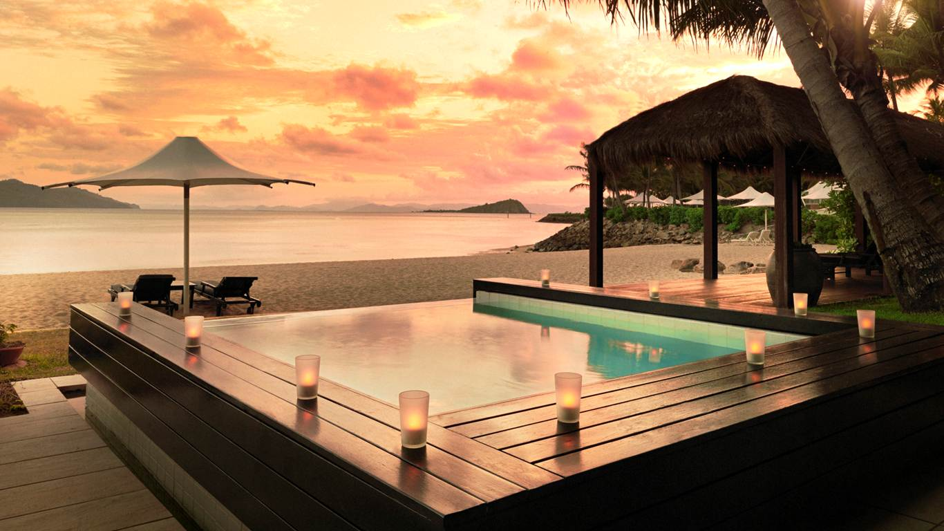 The spa in Hayman Island, Australia