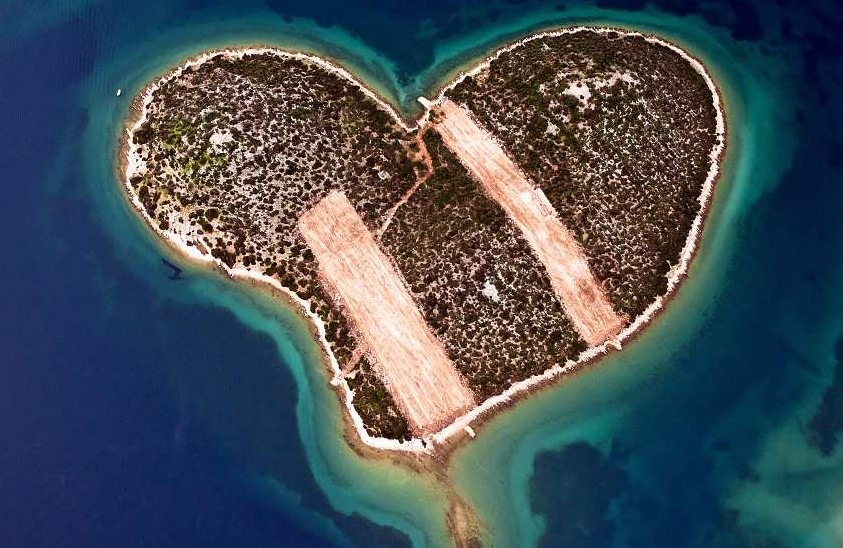 The Most Heart-shaped Island in the World