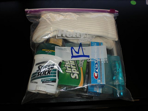 Packing the Perfect Travelers Hygiene Kit