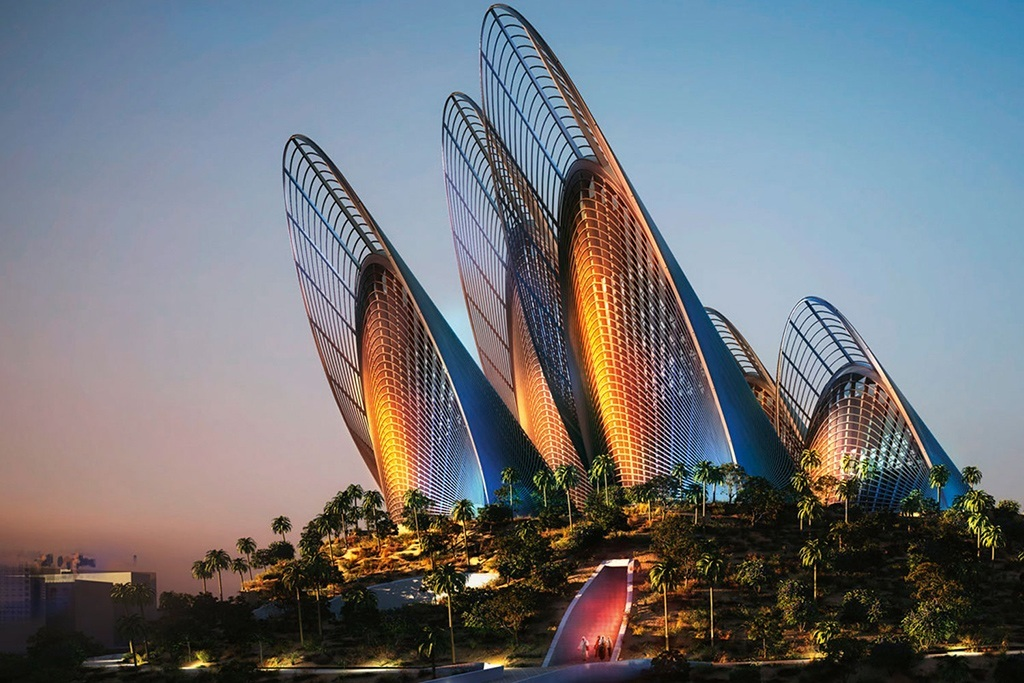 Zayed National Museum Saadiyat Island