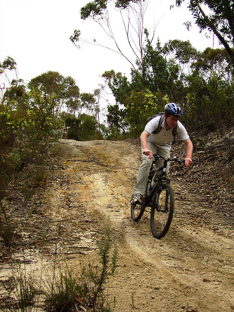 Mountain Biking through Australia