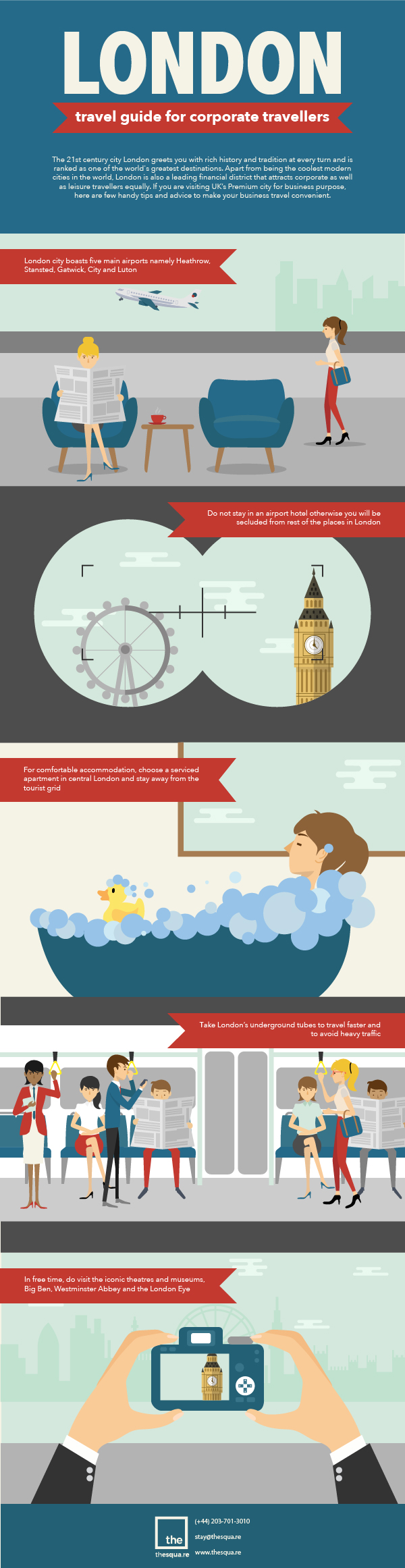 Corporate Traveller and Planning to Visit London [Infographic]