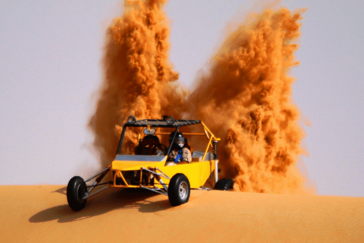 Dune Buggying in Dubai Desert