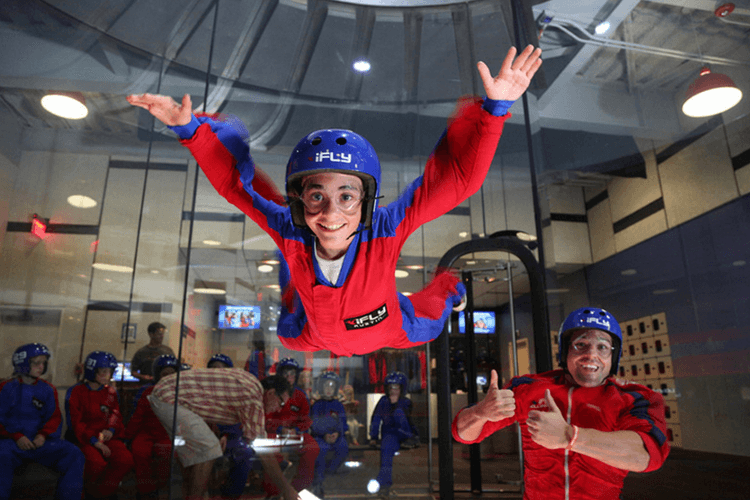 Indoor Skydiving Dubai