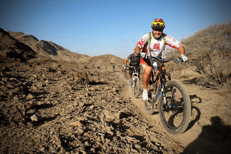 Mountain Biking in Dubai