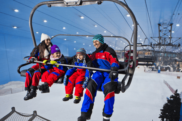 Skiing And Snowboarding in Dubai