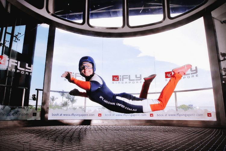 Indoor Skydiving at iFly Singapore