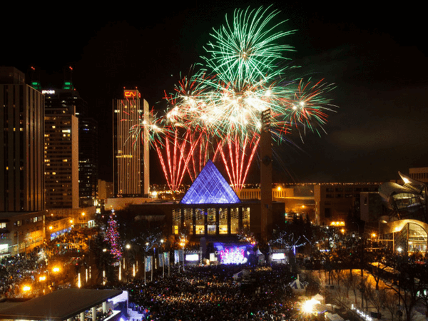 New Year in Edmonton