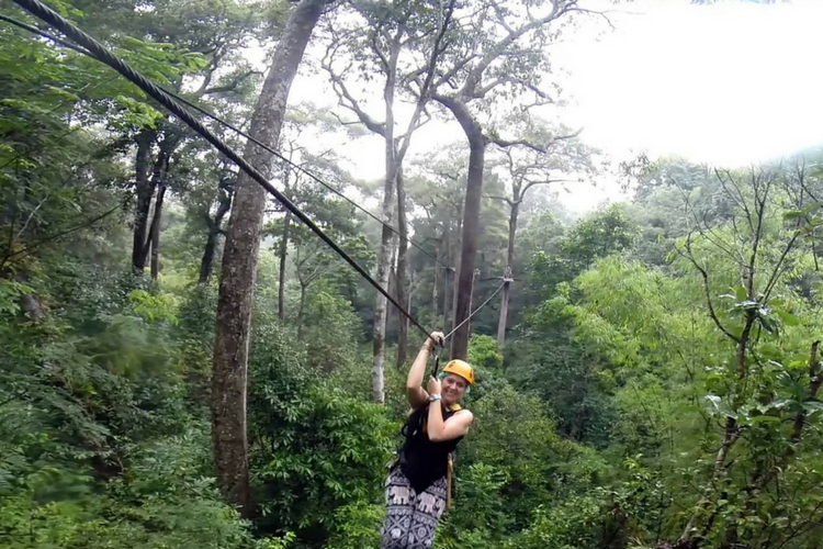Adventurous Christmas - Zip Line Adventure, Chiang Mai