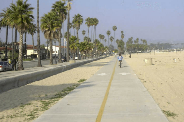 Cabrillo Bike Path, Santa Barbara