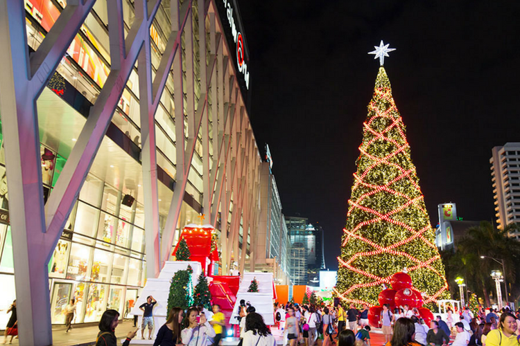 Discover the Christmas flair of Bangkok