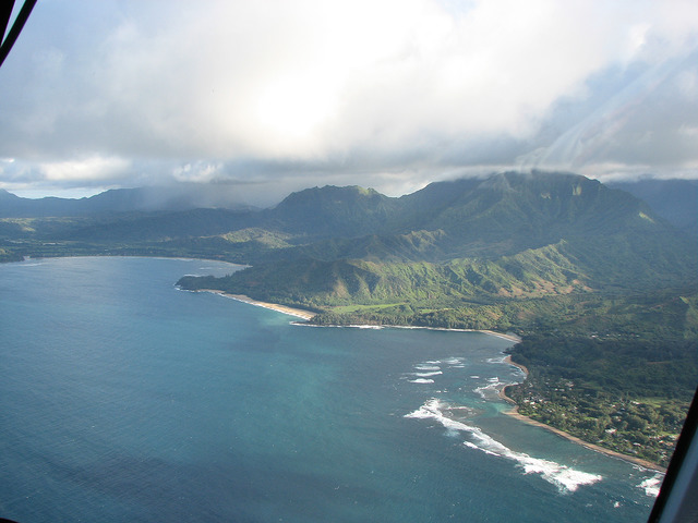 The Top View of Hanalei Bay | © ruthdaniel3444/flickr