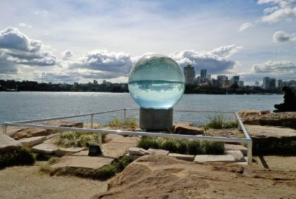 Sydney, NSW, Australia, Glass Ball