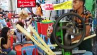 street market myanmar