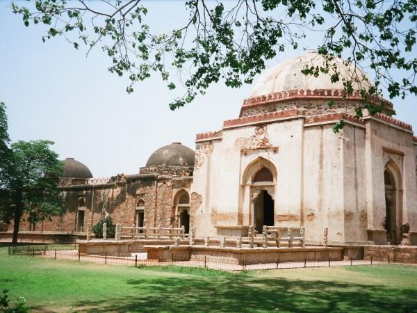 Tourist Destination in Hauz Khas Village, New Delhi, India