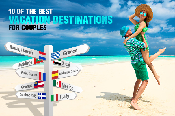 10 of the best vacation destinations for couples the for Best vacation destinations for couples
